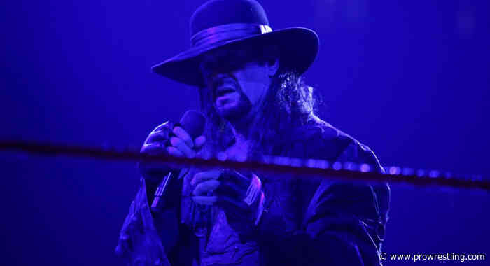 The Undertaker Reveals Brock Lesnar Ending The Streak Was A Late Decision