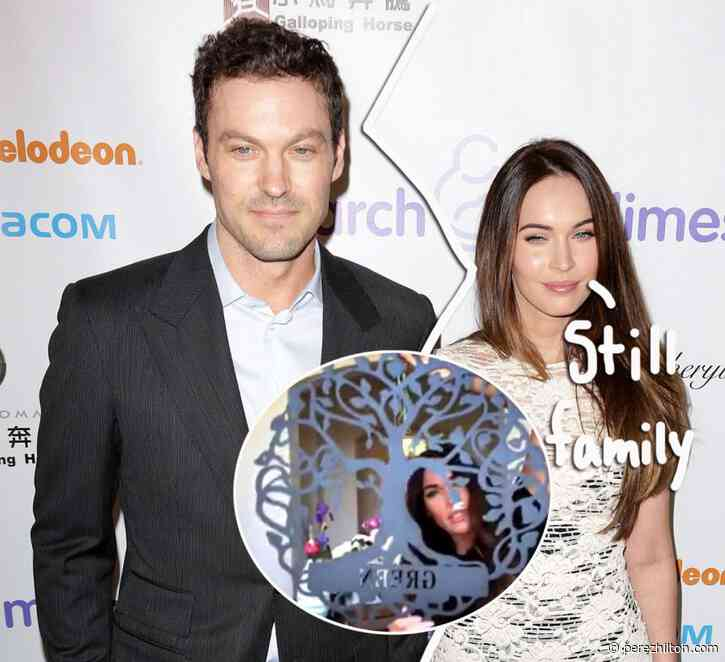 Megan Fox Proudly Shows Off Green 'Family Crest' After Brian Austin Green Split