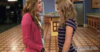Emily Osment Reflects on Hannah Montana, Shares One of Her 'Favorite Photos' from Set with Miley Cyrus - PEOPLE