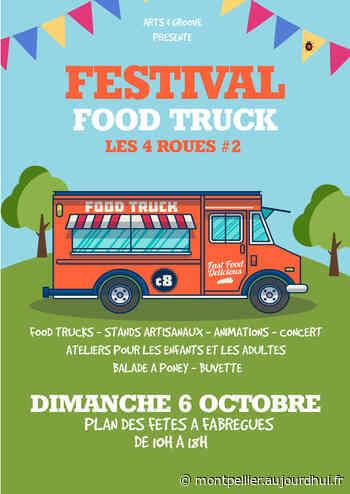 """Festival Food Truck """"Les 4 Roues"""" - PLAN DES FETES DE FABREGUES, FABREGUES, 34690 - Le Parisien Etudiant"""