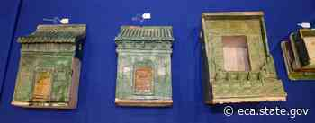 U.S. Returns Stolen Artifacts to China: Photo Gallery