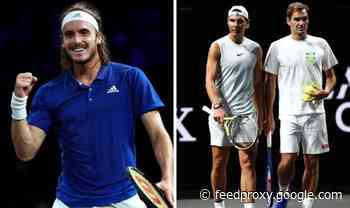 Stefanos Tsitsipas reflects on 'magical' moments with Roger Federer and Rafael Nadal