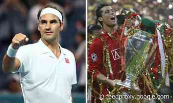 How Roger Federer helped Man Utd win the 2008 Champions League final