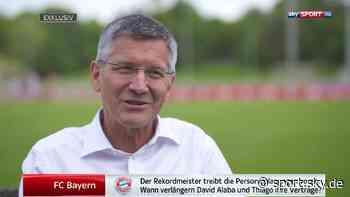 FC Bayern Transfers: Herbert Hainer über David Alaba und Thiago - Sky Sport