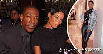 Eddie Murphy's Ex-Wife Nicole Looks Fit in Snakeskin-Print Jacket and Leather (Photos) - AmoMama