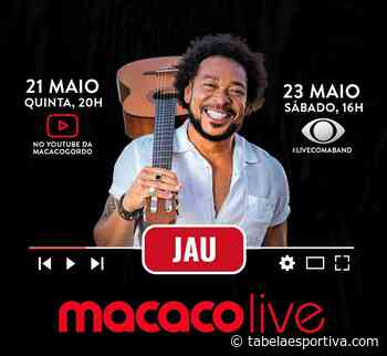 Veja como assistir a live do cantor Jau Ao Vivo online no YouTube - Tabela Esportiva