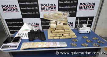 PM apreende cerca de 15 kg de maconha em Cataguases - Guia Muriaé