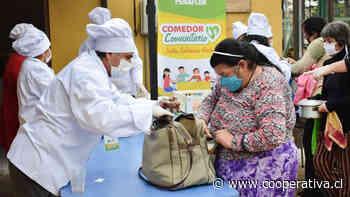 Municipalidad de Peñaflor abrió comedor comunitario para ayudar a vecinos durante la pandemia - Cooperativa.cl
