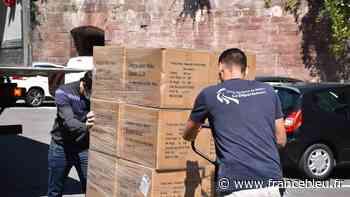 Coronavirus : 500.000 masques chirurgicaux réceptionnés dans le Territoire de Belfort - France Bleu