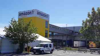 EN IMAGES - Reprise du travail sur le site Amazon de Saran - France Bleu