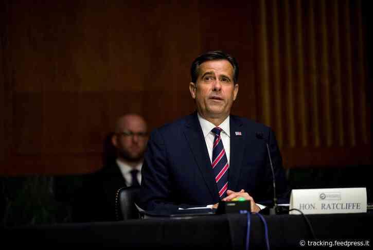 Senate confirms U.S. Rep. John Ratcliffe of Texas as director of national intelligence
