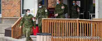 Maintenant 16 militaires prêtant main-forte dans des CHSLD infectés par le coronavirus