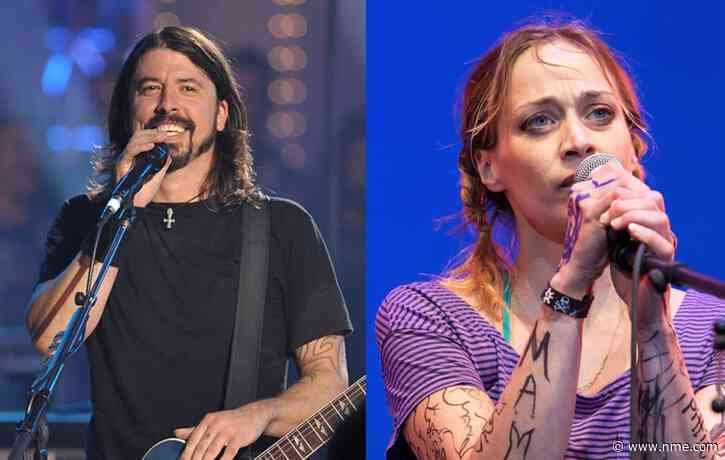 Dave Grohl praises Fiona Apple for getting him through lockdown