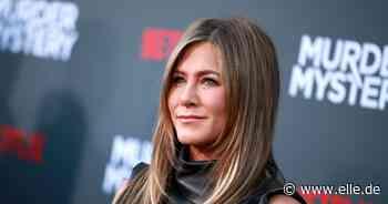 Riemchensandalen: Auf diesen Modetrend setzt Jennifer Aniston! - Elle.de