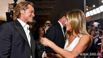 Aniston und Pitt: Trägt Jennifer noch Brads Verlobungsring? - BILD