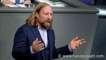 Anton Hofreiter pocht auf Tempolimit auf deutschen Autobahnen - Handelsblatt