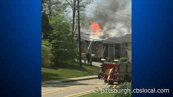 Crews Battle Large Apartment Fire In Lower Burrell