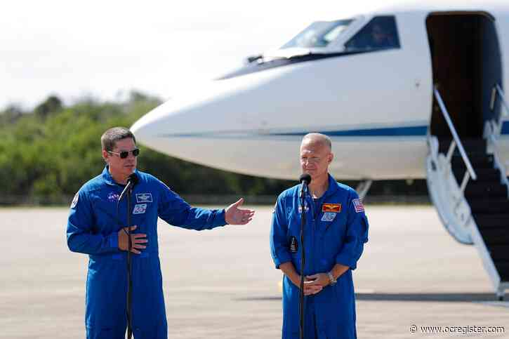 NASA astronauts arrive in Florida for historic SpaceX launch