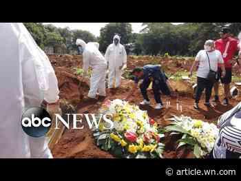 'It's startling,' CNN reporter tours graveyard