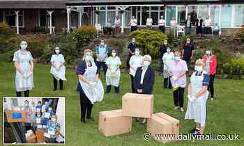 Mail Force delivers PPE for care home run by nuns