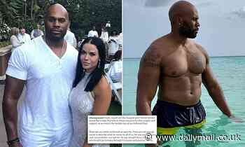 Shad Gaspard's widow pays tribute to WWE star who drowned