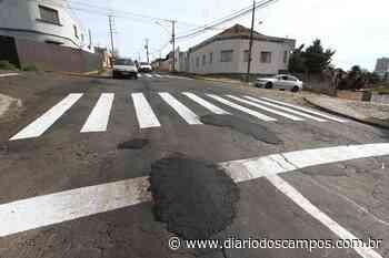Diário dos Campos | Operação tapa-buracos encobre nova sinalização em Ponta Grossa - Diário dos Campos