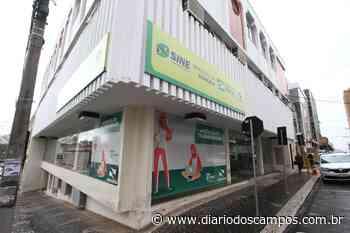 Diário dos Campos | Agência do Trabalhador de Ponta Grossa anuncia vagas para esta sexta-feira(22) - Diário dos Campos