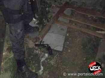 Polícia flagra homem com revólver, munições e cocaína em Ponta Grossa, em Campos - Portalozk.com