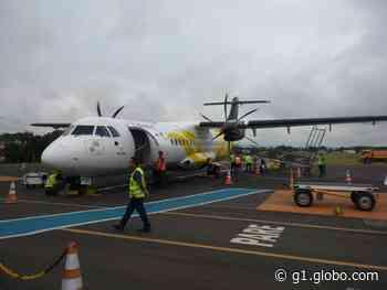 Aeroporto de Ponta Grossa voltará a operar voos para São Paulo a partir de julho, diz empresa - G1