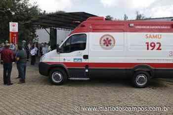 Diário dos Campos | Ponta Grossa conta com equipe completa do SAMU - Diário dos Campos
