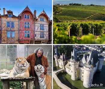 Depuis Montereau-Fault-Yonne. De Troyes à Sully-sur-Loire, en passant par Chablis et... Fontainebleau - actu.fr