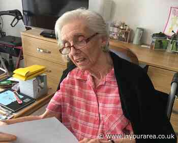 Didsbury care village residents enjoy letters from local school pupils - In Your Area