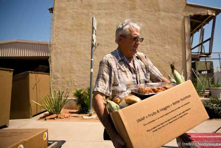 Texas families filing for SNAP food assistance almost doubled in April