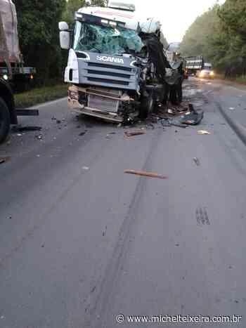 Caminhoneiro de Campos Novos morre em acidente na BR-470 em Curitibanos - Michel Teixeira