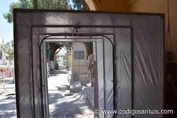 Panteones de Matehuala funcionan bajo estrictas medidas sanitarias - Código San Luis