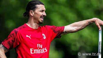 Zlatan Ibrahimovic: Statue von AC-Mailand-Star muss wegen Vandalismus versetzt werden | Fußball - tz.de