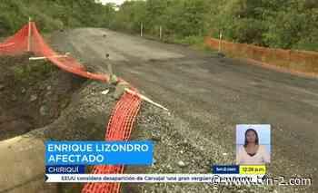 Noticias Denuncian mal estado de la vía Gualaca-Chiriquí Grande - TVN Panamá