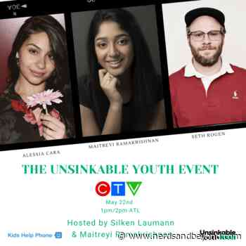 'The Unsinkable Youth Event' Featuring Alessia Cara, Hayley Wickenheiser, Seth Rogen, and More Airing on CTV Tomorrow! - Nerds and Beyond
