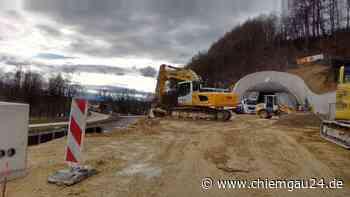 Bau des Aubergtunnels: Das ist der Stand der Dinge - chiemgau24.de