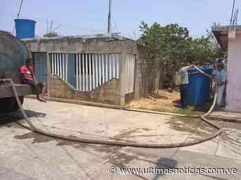 Mamporal recibió una súper cisterna para distribución de agua - Últimas Noticias