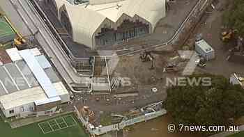 Coronavirus Victoria: Melbourne construction site at St Leonard's College in Brighton closed as worker tests positive - 7NEWS.com.au