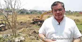Desazolvan predio de Laguna Seca en Jiutepec para evitar inundaciones - Diario de Morelos