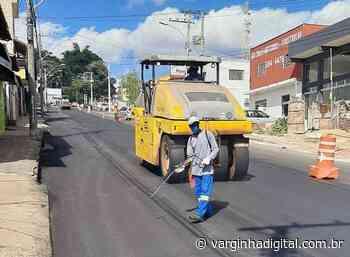 Prefeitura de Varginha inicia recapeamento asfáltico em ruas e avenida da cidade - Varginha Digital