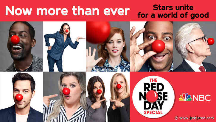 NBC's Red Nose Day Special 2020 - Full Celeb Lineup Revealed!