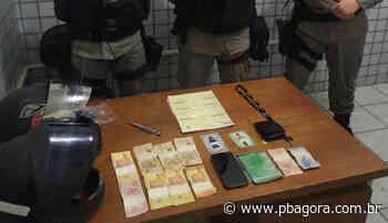 Polícia prende dupla suspeita de assaltar mercadinho em Guarabira - PBAGORA - A Paraíba o tempo todo