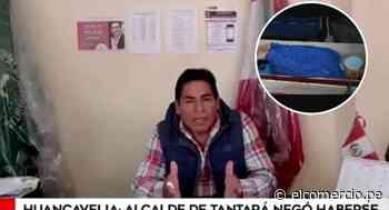 Huancavelica: alcalde de Tantará niega esconderse en ataúd - El Comercio Perú