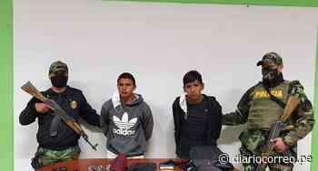 Huancavelica: Detienen a dos personas armadas tras robo en tienda - Diario Correo