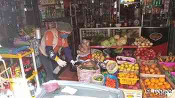 Huancavelica: Comerciantes desinfectan dinero y exigen a sus clientes lavarse las manos - RPP