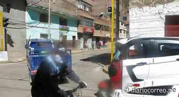 Huancavelica: Cable de semáforo pone en riesgo a la población - Diario Correo