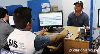 Huancavelica: Durante emergencia sanitaria más de 1300 se aseguraron al SIS - Diario Correo